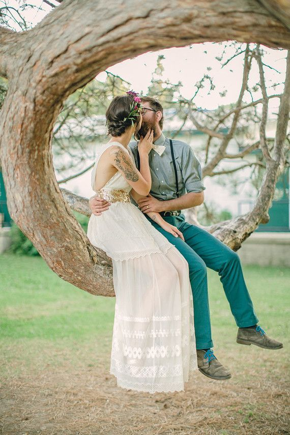 Buscar un lugar inverosímil para celebrar bodas