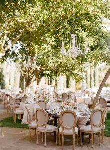 Decoración de espacios para bodas.