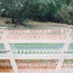 copas y vasos rosados para eventos, catering madrid