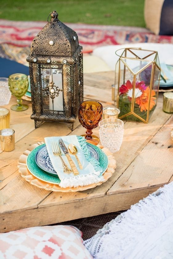 Ideas para hacer una boda de estilo marroquí 9