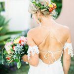 recogido floral para tu boda, catering madrid