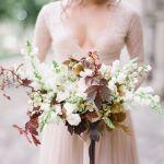 flores de otoño para una boda diferente