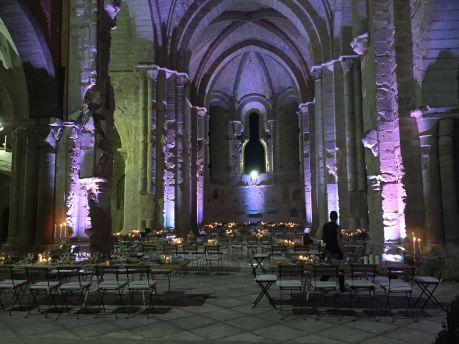 Boda en un monasterio, Kozinart, catering Madrid