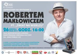 """Spotkanie z Robertem Makłowiczem @ Sala kina """"Oranżeria"""", ROK"""