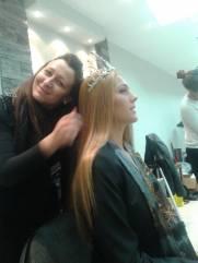 skola sminkanja Akademija Miss Srbije, prva i druga pratilja & Akademija Purity