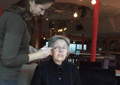 EVA RAS I AKADEMIJA PURITY – šminka i frizura na snimanju pilot emisije