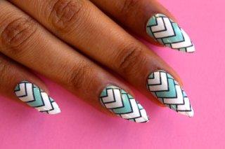 Novi trend  – Riblja kost nokti
