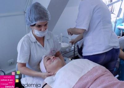 KOZMETIČKI TRETMAN – higijensko čišćenje lica, predmet: primenjena kozmetologija II
