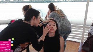 PRIPREMA ZA PURITY FASHION PROVOCATION – šminka i frizura u backstage-u