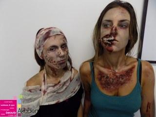 ZOMBI MASKA – zastrašujuća filmska šminka i specijalni efekti