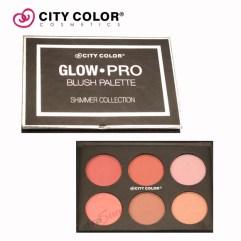 Paleta rumenila Glow Pro Shimmer