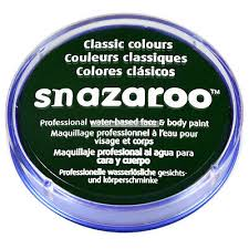 SNAZAROO Boja za body art dark green