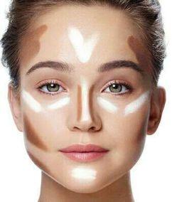 ba60a4355203c4a3630c7f3dc628b3f6--easy-contouring-contouring-makeup