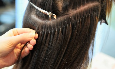Marie Nasemann Gets Hair Extensions