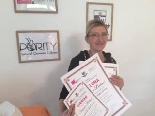 Snežana Đalović, akademski kurs za profesionalnog masera I nivo