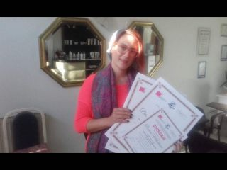 Danica Mihajlović, akademski kurs nadogradnje noktiju sa nail artom