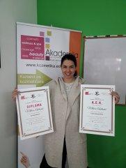 Milica Antonić, akademski kurs medicinskog pedikira