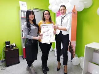 Edina Hasanović, akademski kurs profesionalnog šminkanja