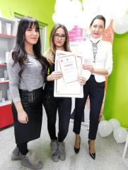 Kristina Babić, akademski kurs nadogradnje i ekstenzije noktiju sa nail art-om