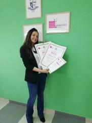 Milena Plavšić, kurs profesionalne masaže