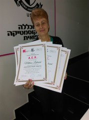 Milica Luković, akademski kurs profesionalne masaže II nivo