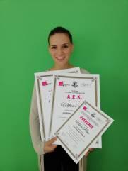 Milica Perin, akademski kurs profesionalnog šminkanja