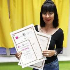 Tina Ivanković, akademski kurs profesionalnog šminkanja