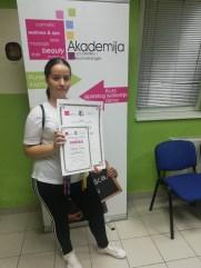 Tamara Savić, kurs profesionalnog šminkanja