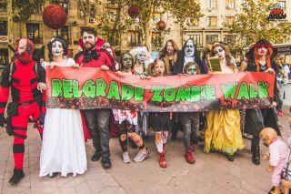 """Šesti """"Zombie walk"""" u sklopu Festivala srpskog filma fantastike – tim Akademije Purity"""