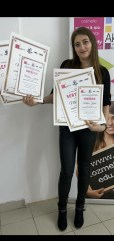 Milena Krstić, Niš, kurs: PROFESIONALNA MASAŽA- prvi i drugi nivo