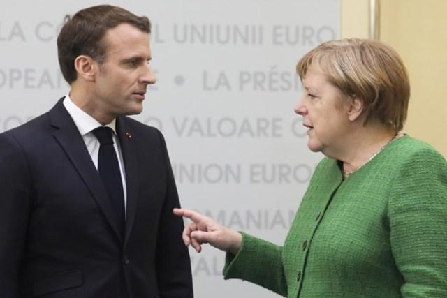 Макрон і Меркель організують зустріч у «нормандському форматі»