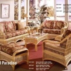 Rattan Living Room Chair Blue Wool Rug And Wicker Furniture Sets Kozy Kingdom Island Paradise