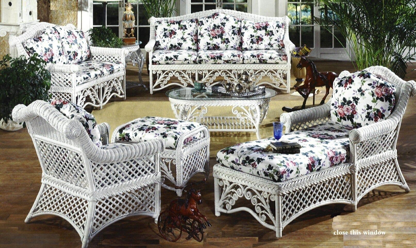 Gazebo Victorian Wicker Furniture