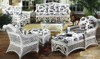 Gazebo Victorian Wicker Furniture | Kozy Kingdom