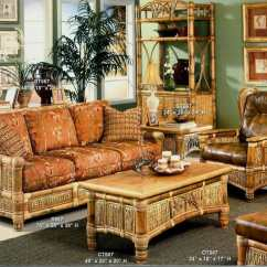 Bamboo Couch And Chairs Plastic Chair Table Set Sunroom Furniture Kozy Kingdom