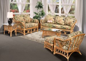 wicker living room sets beach themed design furniture rattan sunrise