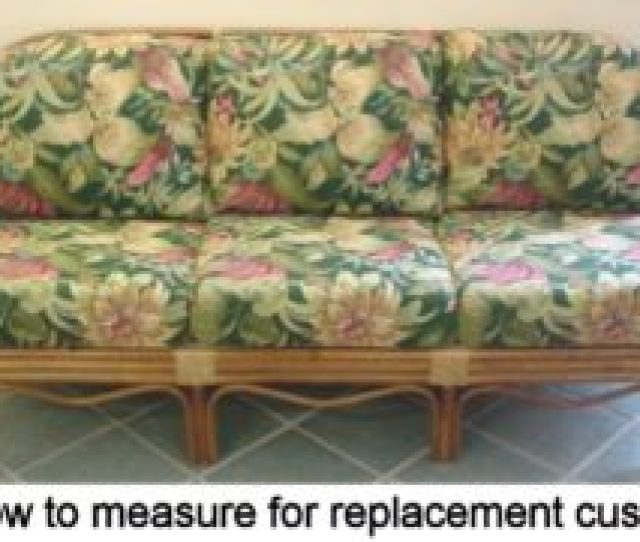 How To Measure For Wicker Furniture Replacement Cushions