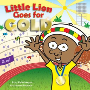 Little Lion Goes For Gold