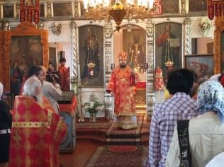 Освящение св. Георгиевского храма