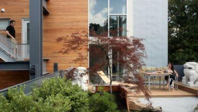 Photo of Újrahasznosított anyagból készített luxus ház minimál stílusban
