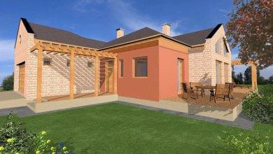 Photo of 186 m2-es egyszintes családiház terv