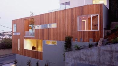 Photo of Keskeny minimál ház modern otthon