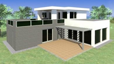 Photo of GIGI 230 m2-es modern lapostetős családi ház