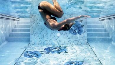 Photo of Üvegmozaik csempék medencéhez