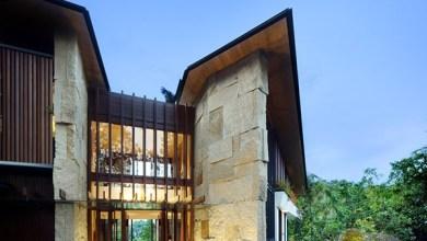 Photo of Modern ház trapéz tetővel