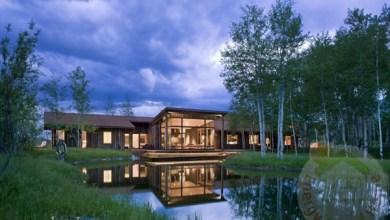 Photo of Csodálatos hegyi ház Amerikában