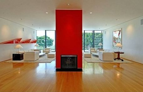 red-fireplace