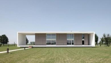 Photo of Fenntartható, monolitikus lakóház Olaszországból