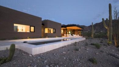 Photo of Egyszintes sivatagi lakóház Arizonából