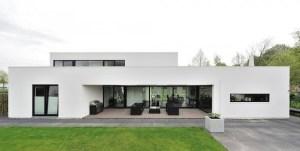 White-Contemporary-House
